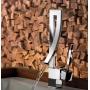Misturador Monocomando para Lavatório Bica Baixa 2875 LorenWave Cromado Lorenzetti