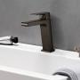 Misturador Monocomando Lavatório Bica Baixa 2875 B78  LorenLike Black Lorenzetti