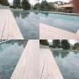 Ralo Linear Oculto 1,30mt para Área Externa Infinity PVC