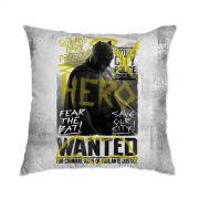 Almofada Batman VS Superman Hero Wanted