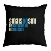 Almofada Os Paralamas do Sucesso Sinais do Sim Logo