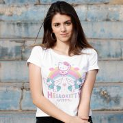 Blusa Feminina Hello Kitty Rainbow