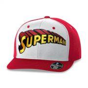 Boné Aba Reta Superman Logo Clássico