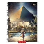 Caderno Assassin's Creed Pirâmide 10 Matérias