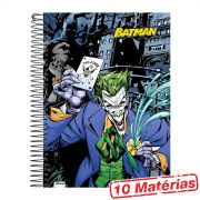 Caderno 10 Matérias Batman The Joker