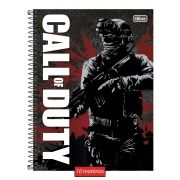 Caderno Call of Duty Action Soldier 10 Matérias