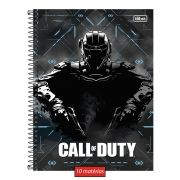 Caderno Call of Duty Black Soldier 10 Matérias
