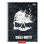 Caderno Call of Duty Skull Cap 10 Matérias