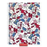 Caderno Hello Kitty Happiness 10 Matérias