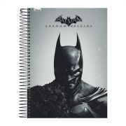 Caderno 1 Matéria Batman Half Black Face