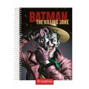 Caderno Batman The Killing Joke 10 Matérias
