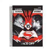 Caderno Batman VS Superman Face Off 1 Matéria