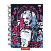 Caderno Harley Quinn Baseball Bat 10 Matérias