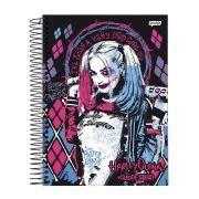 Caderno Harley Quinn Baseball Bat 1 Matéria