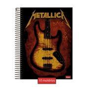 Caderno Metallica Bass 10 Matérias