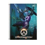 Caderno Overwatch Widowmaker 1 Matéria
