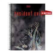 Caderno Resident Evil Zombies 10 Matérias