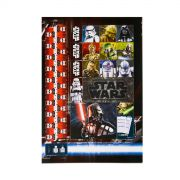 Caderno Star Wars Dark Side 10 Matérias