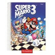 Caderno Super Mario 3 -10 Matérias