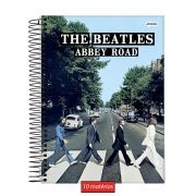 Caderno The Beatles Abbey Road 10 Matérias