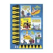 Caderno The Beatles Yellow 1 Matéria