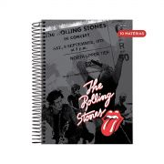 Caderno The Rolling Stones In Concert 10 Matérias
