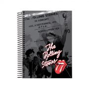 Caderno The Rolling Stones In Concert 1 Matéria