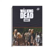 Caderno The Walking Dead Flooding Zombies 1 Matéria