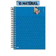 Caderno Turma da Mônica Cascão Banho Não! 10 Matérias
