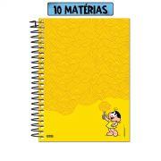 Caderno Turma da Mônica Macarronada da Magali 10 Matérias