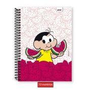 Caderno Turma da Mônica Magali 10 Matérias
