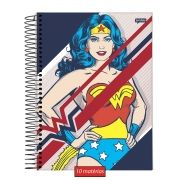 Caderno Wonder Woman Classic HQ Post 10 Matérias