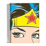 Caderno Wonder Woman Face 1 Matéria