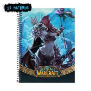 Caderno World of Warcraft Sylvanas 10 Matérias