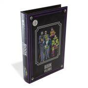 Caixa Decorativa Livro Dos Vilões DC Comics