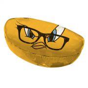 Caixa para Óculos Looney Tunes Piu-Piu Amarelo