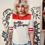 Camiseta Esquadrão Suicida Harley Quinn Daddy's Lil Monster
