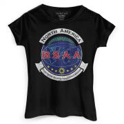 Camiseta Feminina Resident Evil BSAA