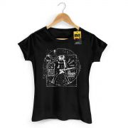 Camiseta Feminina 89 FM A Rádio Rock We Rock Vitrúvio! 2