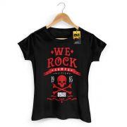 Camiseta Feminina 89FM A Rádio Rock We Rock Sampa Modelo 2