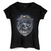 Camiseta Feminina Aerosmith Bad Boys Of Boston 1970
