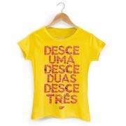 Camiseta Feminina Aviões do Forró Desce Duas