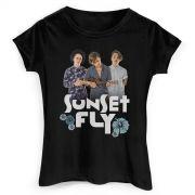 Camiseta Feminina Banda Fly Sunset Photo