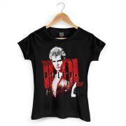 Camiseta Feminina Billy Idol Photo