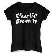 Camiseta Feminina Charlie Brown Jr. Logo Clássico