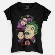 Camiseta Feminina DC Comics Vilões de Gotham City 1966