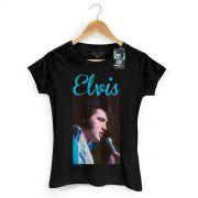 Camiseta Feminina Elvis Presley 70s Songs