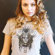 Camiseta Feminina Esquadrão Suicida Magia