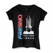 Camiseta Feminina Fresno Launch Rocket