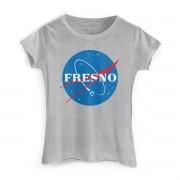 Camiseta Feminina Fresno Programa Espacial